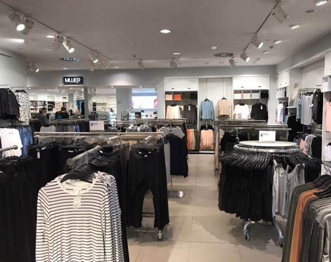 H m centro comercial h2o madrid ofiberia for Centro comercial sol madrid