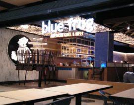 Terminadas las obras en el Blue Frog del Centro Comercial de Equinoccio en Madrid